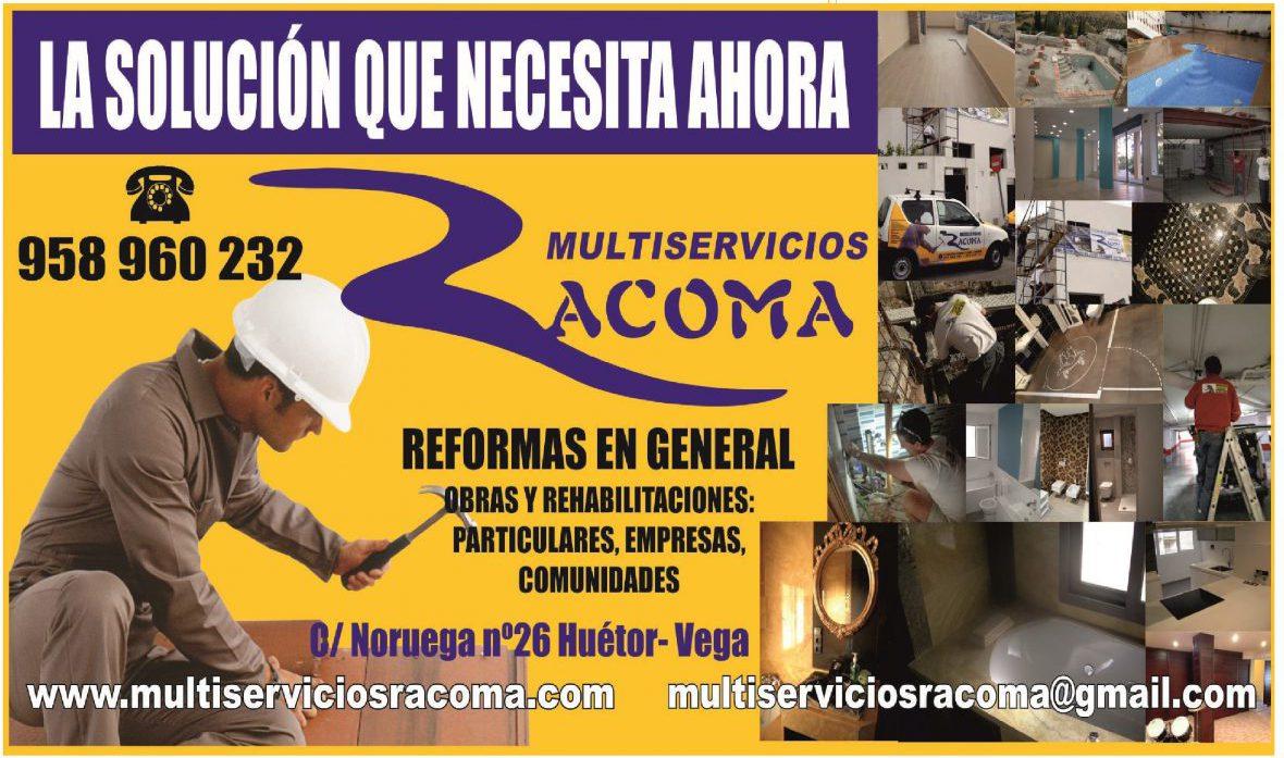 MULTISERVICIOS  RACOMA